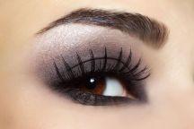 16025106 - eye with black fashion make-up