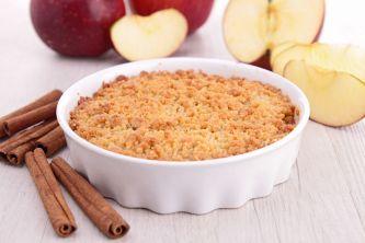 18032632 - gourmet apple crumble