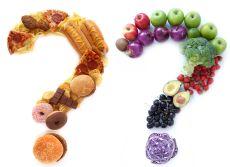 45299772 - healthy unhealthy food choices